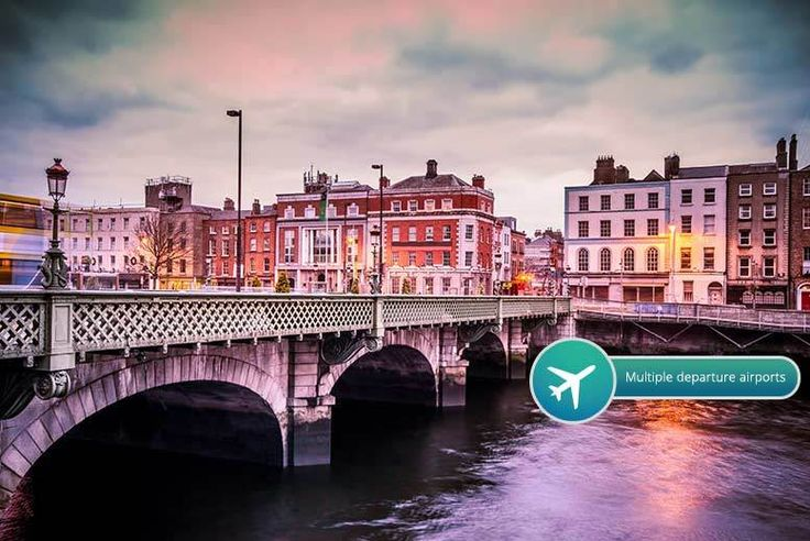 2,3nts 4* Dublin with Flights & Old Jameson Distillery Whiskey Tour deal in Holidays Enjoy a two or three-night stay in Ireland capital's city, Dublin.   Includes return flights from Gatwick, Luton, Southend, Manchester, Glasgow, Edinburgh, Birmingham and Liverpool.  Stay at the 4* Charleville Lodge for the duration of your stay.  Enjoy a Old Jameson Distillery Whiskey Tour that ends with a...