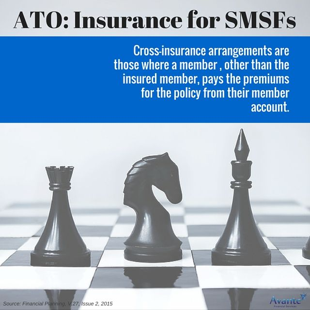 ATO's view on insurance for SMSF's. Part 3:   #ATO #Statement #SMSF #Avantefs   www.avantefinancial.com.au