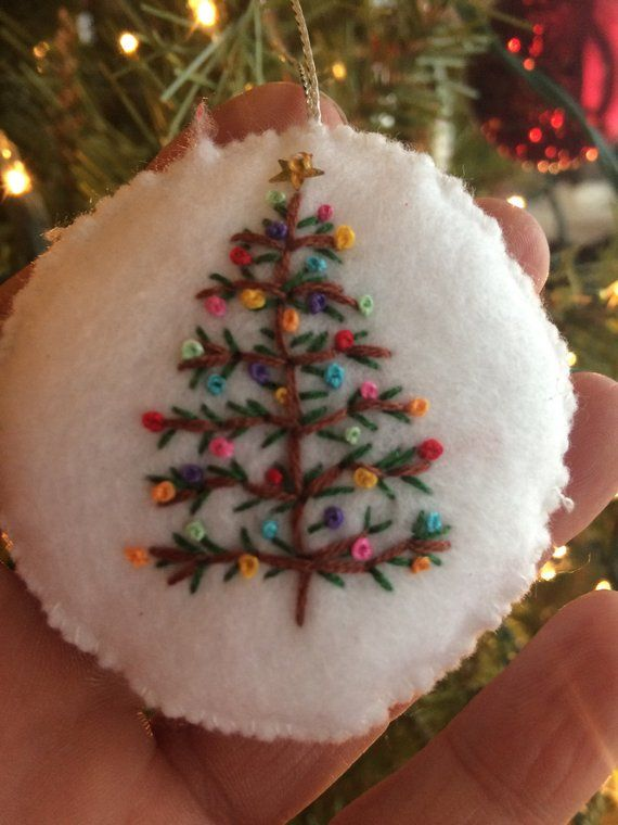 Handmade Unbreakable Felt Ornaments Perfect For Hanging On A Holiday Tree Bottle Of Wi Christmas Ornaments Felt Christmas Ornaments Sewn Christmas Ornaments