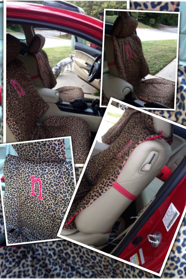 DIY Custom Car Seat Covers