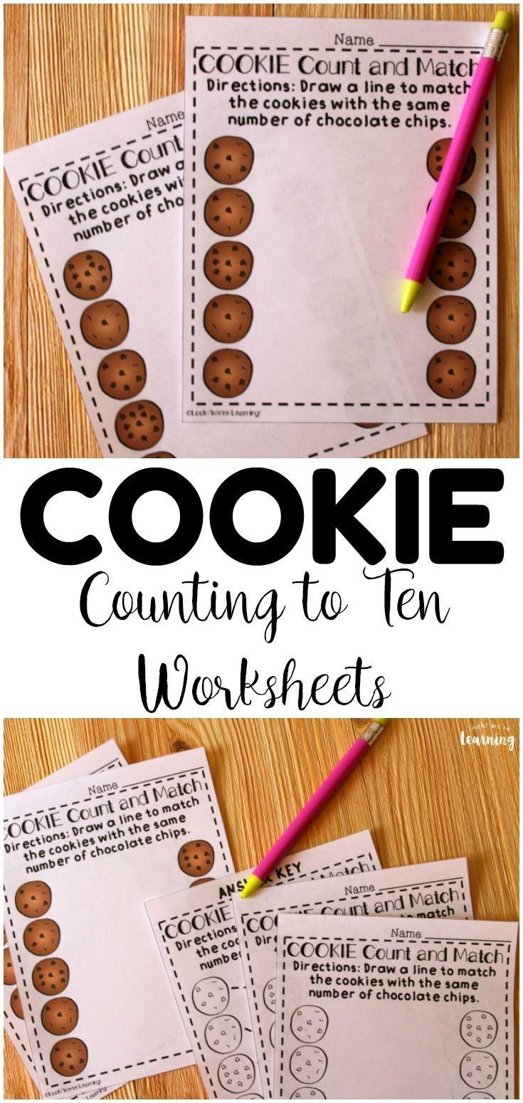 Preschool Worksheets Cookie Counting Worksheets For Preschool Math Activities Preschool Counting Worksheets Cookies Theme [ 1550 x 735 Pixel ]