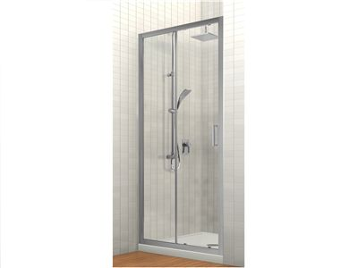 Studio Glide Alcove Sliding Shower Tile Option | Alcove Sliding Shower | Englefield Bathroom Products | Englefield New Zealand