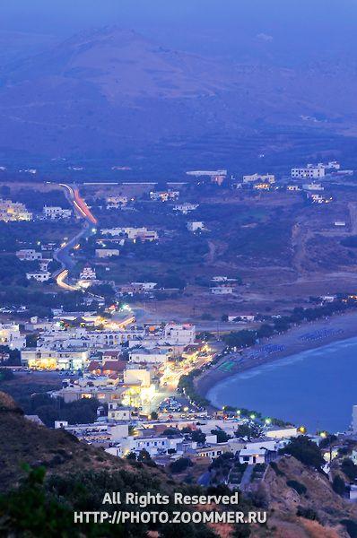Southern Crete village Plakias, Crete, Greece