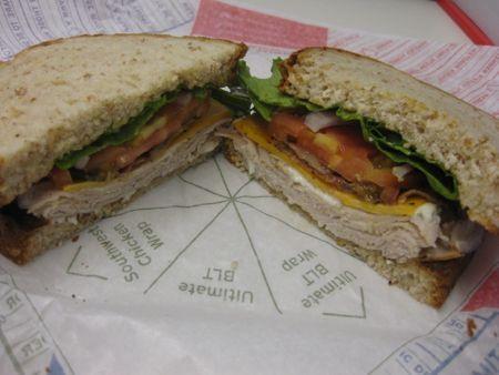Fast Food Review: Roast Turkey Ranch & Bacon Market Fresh Sandwich from Arby's