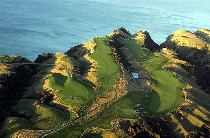 One Of The Toughest (And Most Beautiful) Golf Courses  In The World: Cape…