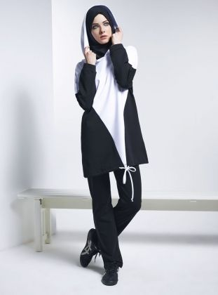 Sportswear - Black & White - Mayovera