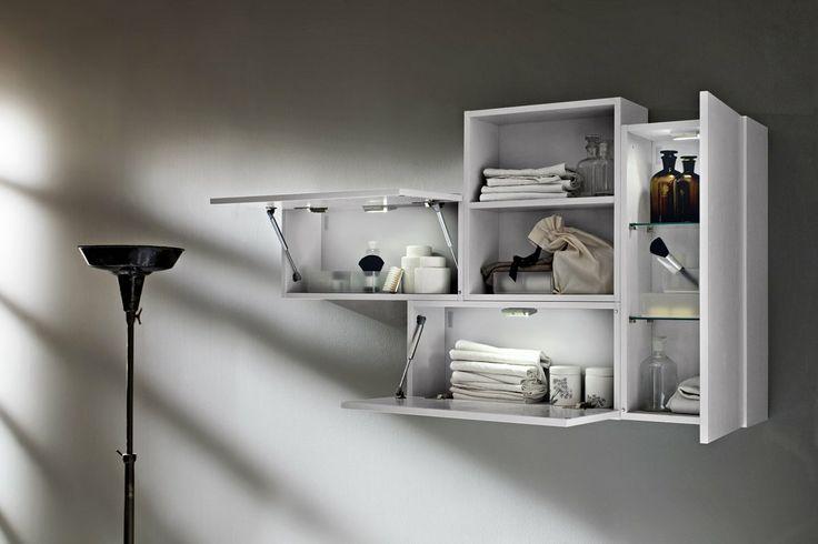 Bagno Aperto In Stile Moderno By Edone Design Interior : Bagno ryo con finitura colore platino effetto poro aperto