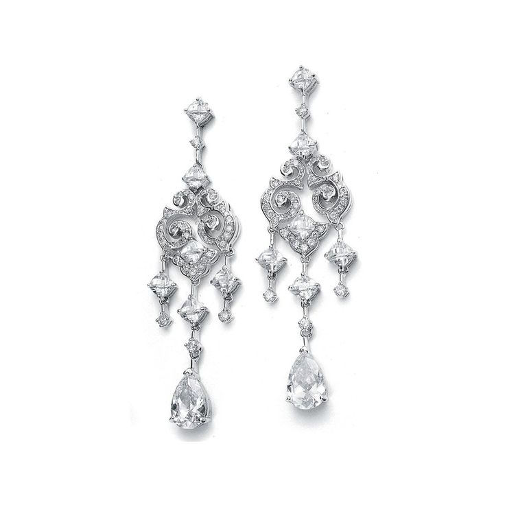 226 best Wedding, Prom or Casual Earrings images on Pinterest ...
