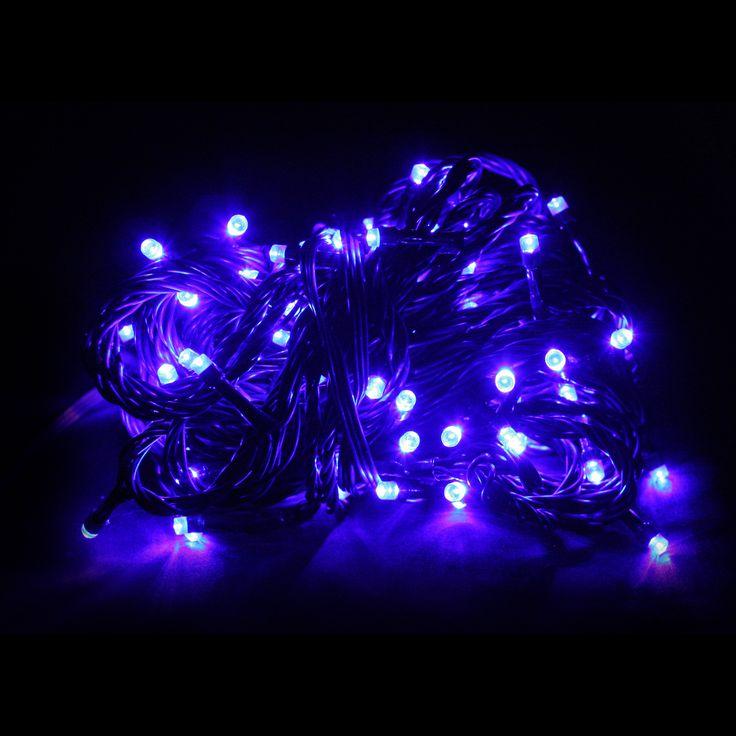 100pc Connectable LED Fairy Lights - Blue - Christmas Elves