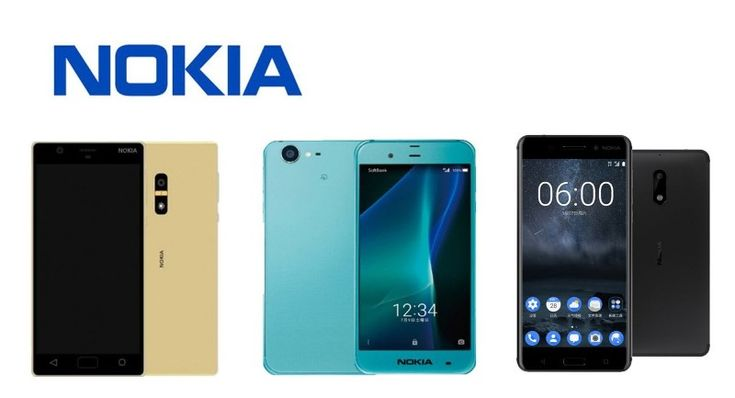 Nokia P1 vs Nokia 6 vs Nokia D1C