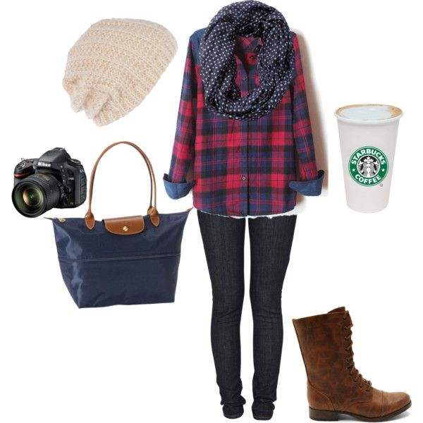"""""""Fall Weekend Outfit"""" by brittney-bouchillon on Polyvore"""