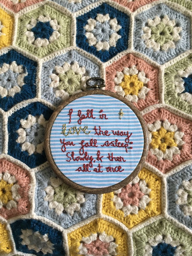The Fault In Our Stars Quote on Embroidery Hoop by OffthebeatentrackCo on Etsy