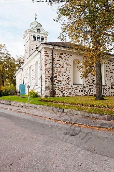 Tammisaaren kirkko - Raasepori Tammisaari Ekenäs