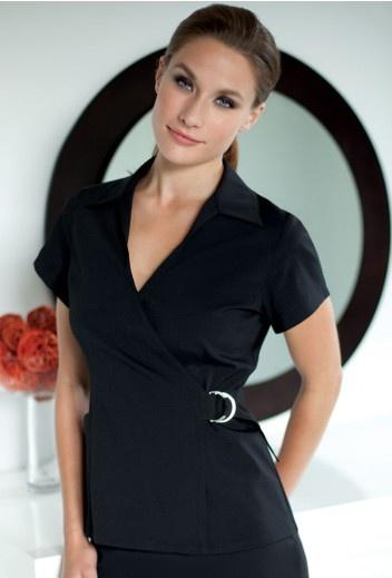7 best spa uniforms images on pinterest spa uniform for Uniform design for spa