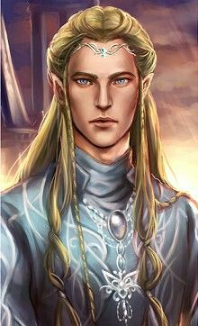 Legorelf, guerreiro da Rainha.                                                                                                                                                                                 More