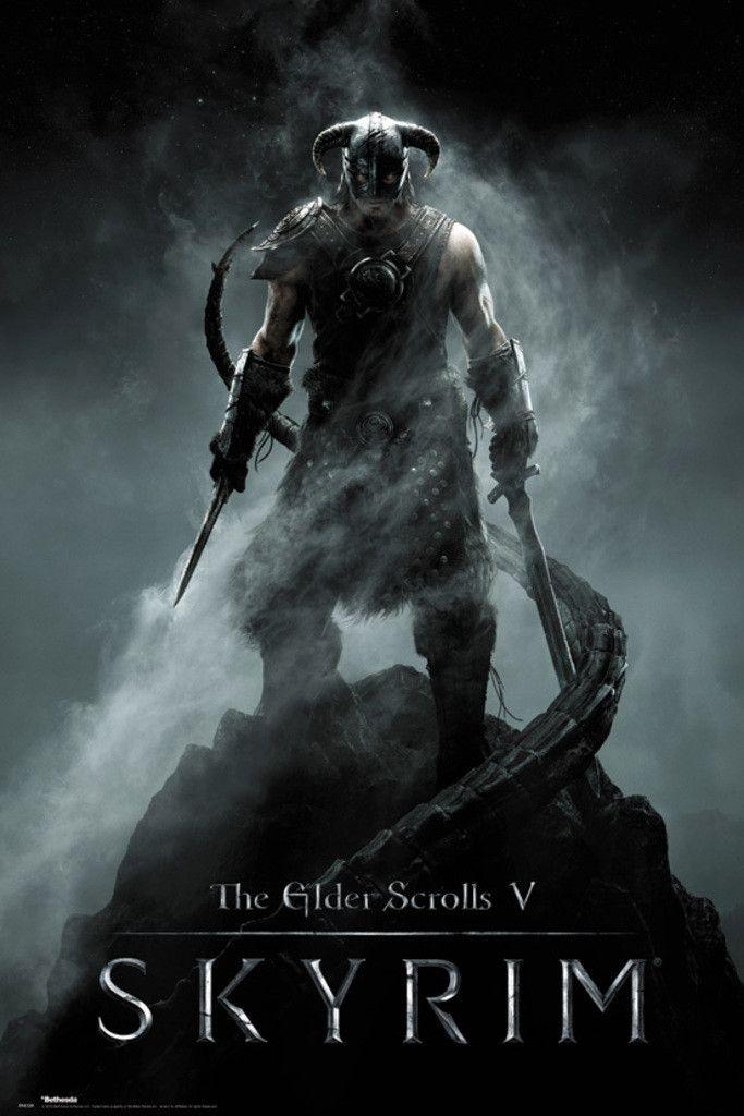 Skyrim Dragonborn - Official Poster