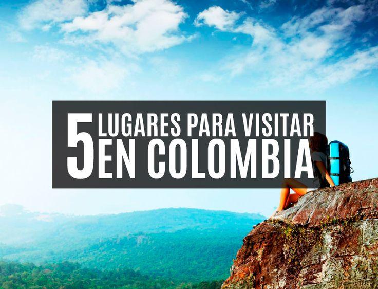 Conoce 5 lugares mágicos en Colombia, que no te puedes perder!