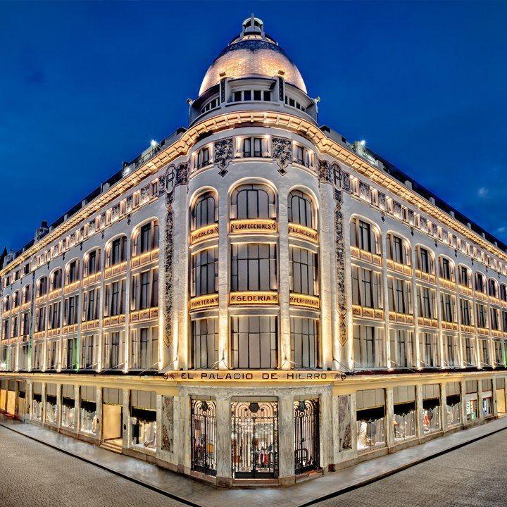 Palacio de hierro centro z calo ciudad de m xico for Sanborns centro df