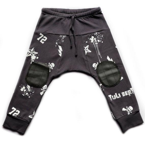 Baby harem pants Cool todler harem pants Boys by TuliBertKids, $33.00