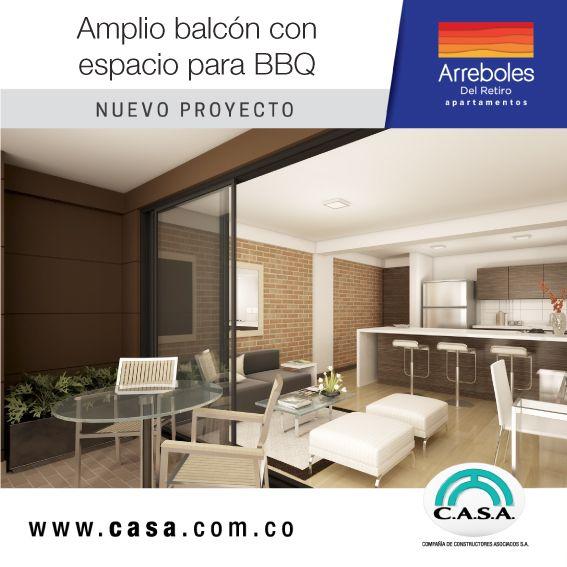 : Comparte momentos inolvidables en espacios diseñados para tu bienestar. #viveenarrebolesdelretiro #apartamento #campestre