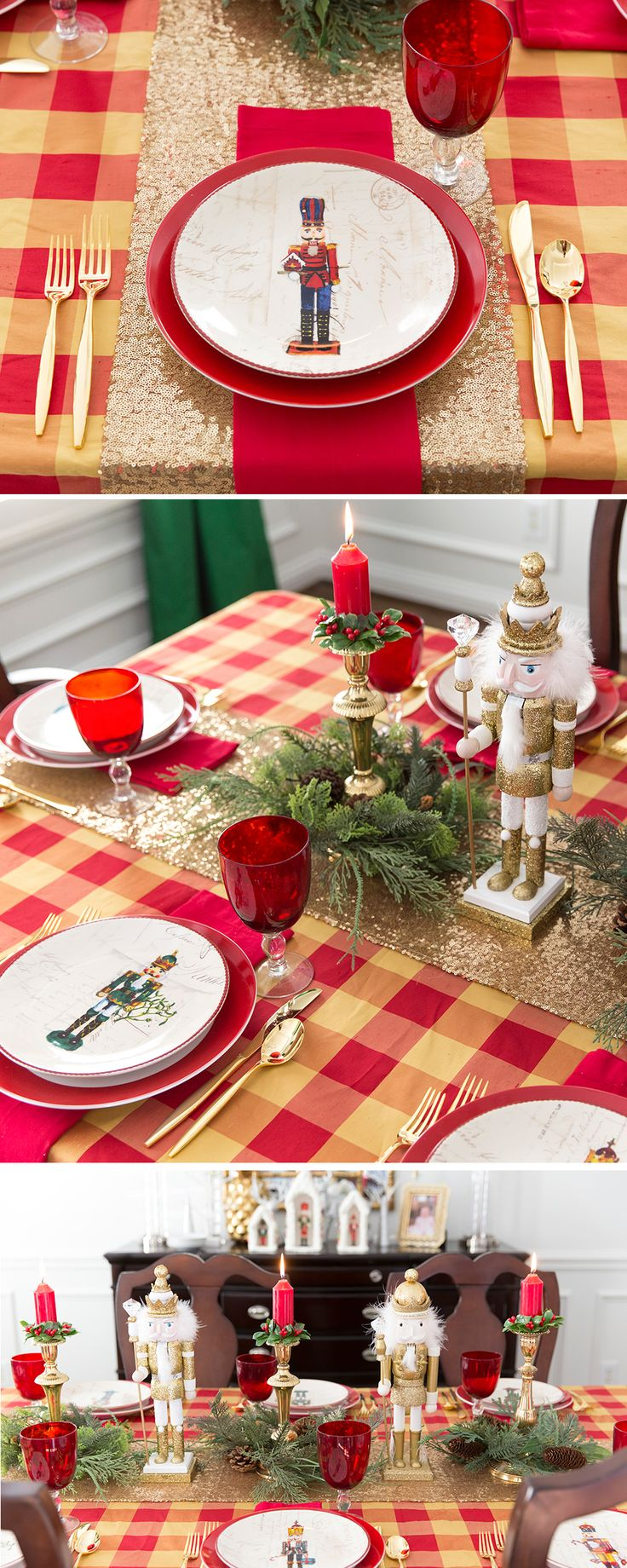 Christmas Nutcracker Party Table!