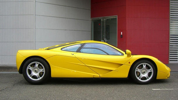 Rare McLaren F1 for sale with zero miles on the odometer | Motoramic - Yahoo! Autos