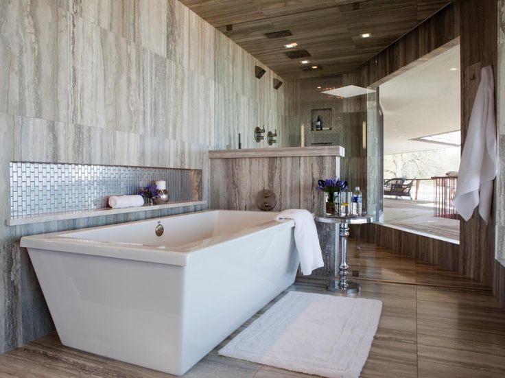Two-Person Bathtubs: Pictures, Ideas & Tips From HGTV | Bathroom Ideas & Designs | HGTV