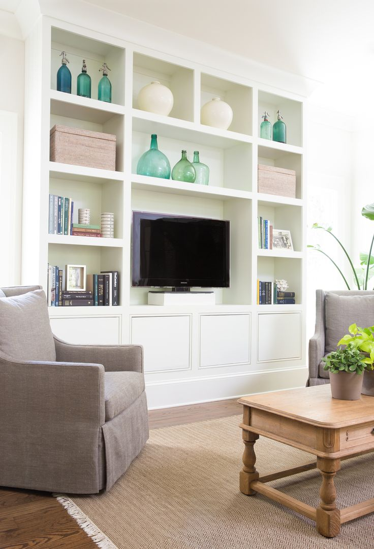 Family Room Built-ins by Dana Clemons | Built in tv ...