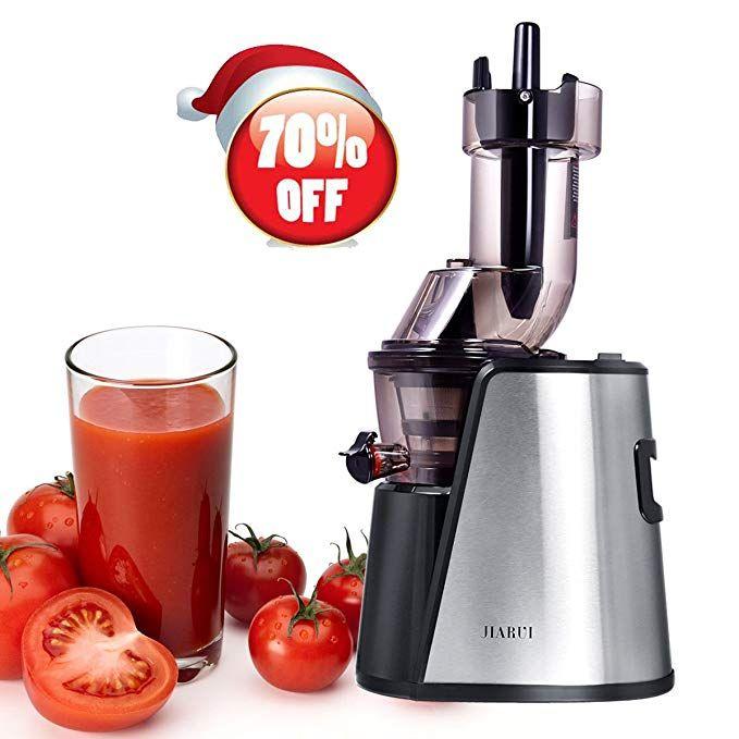 Slow Juicer Wide Mouth Juice Extractor 240watt Masticating Juicer Machine Powerful Whole Fruit Vegetable Juicer Fruit And Vegetable Juicer Masticating Juicers