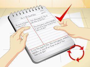 Il metodo per prendere appunti Cornell è stato sviluppato dal Dr. Walter Pauk della Cornell University. Si tratta di un sistema molto usato per fare annotazioni durante una lezione o una lettura, e per ripassare e memorizzare quel ...