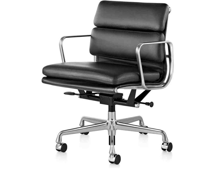 Eames Soft Pad Management Chair For Herman Miller An Extension Of The Aluminum Group Chairs Designed In 1958 Irwin Home