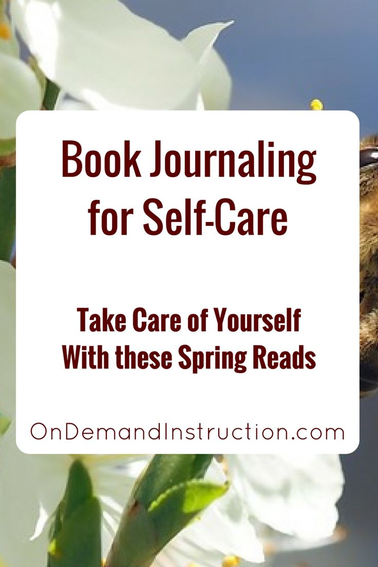 This list of spring books will have you reading and journaling. Journal, journal writing, journal ideas, journaling techniques, Self care, meditation, stress management. Improve your writing by subscribing to OnDemandInstruction.com