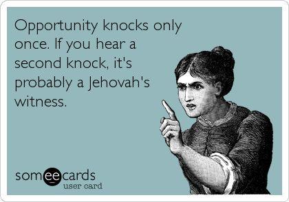 JW humor