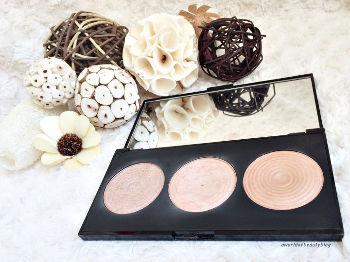 Makeup Revolution Palette surligneur Radiance
