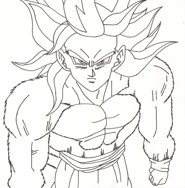100+ ideas Super Saiyan Coloring Pages on spectaxmasa.download