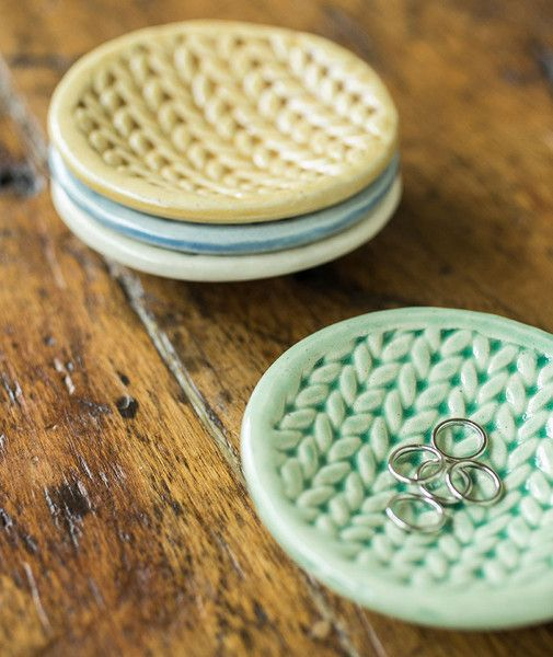 Knitted Dishes by Charan Sachar