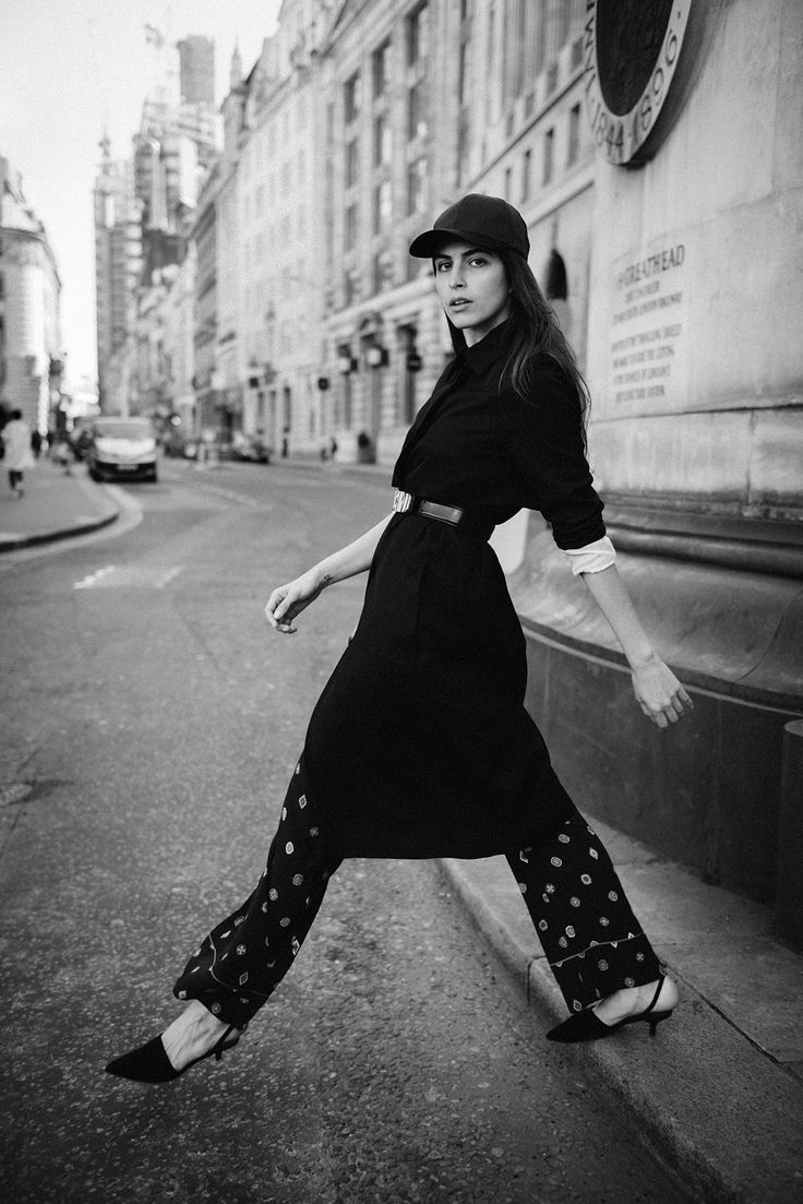 City shoot in black and white, styled by me http://gabriellalundgren.com/city-shoot-in-black-and-white-styled-by-me Styling: Me, Photographer: Valerio Lettieri, Model: Andressa Claas, Makeup and Hair: Tania Firth