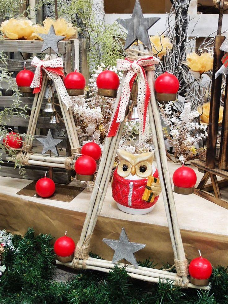 Idee creative per vetrine natalizie fai da te. Online accessori per decorazioni economiche e particolari