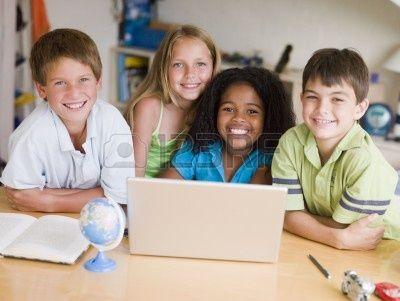 Resultado de imagen para fotos niños ESTUDIANDO