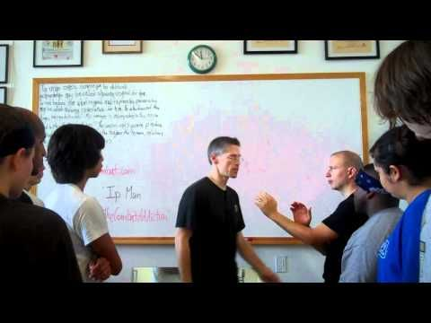 Combat Self Defense Basic Principles, 2nd Third from Ip Man Wing Chun Kung Fu - YouTube