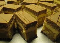 Zelfgemaakte snickers