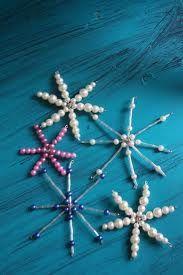 snöflinga av pärlor