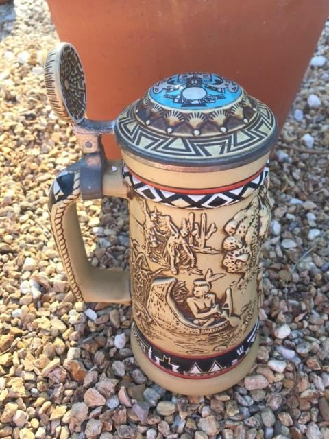 Avon 'Indians Of The American Frontier Stein' ~ 1988