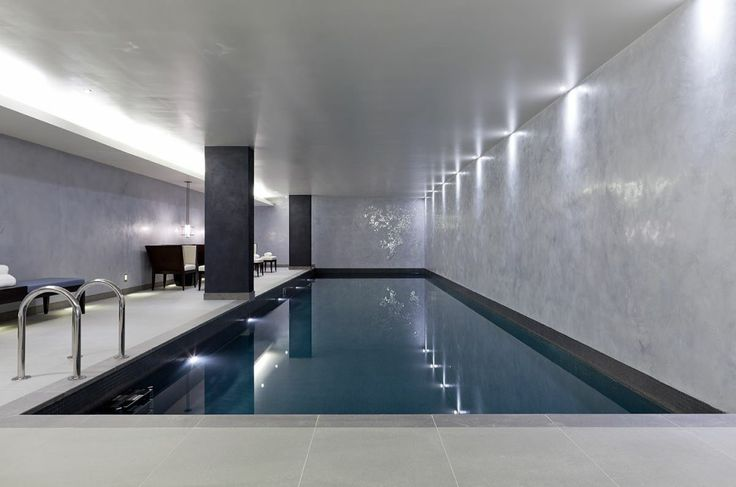 1832 best indoor swimming pools images on pinterest for Basement swimming pool ideas