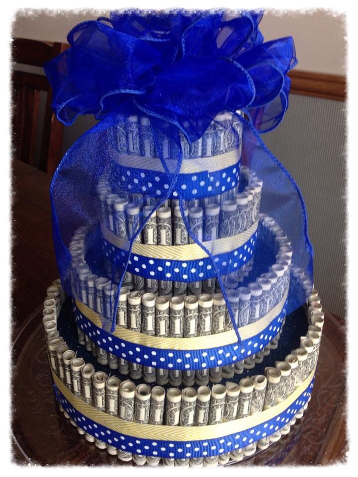Pin pin money cake ideas picture to pinterest cake on pinterest - Money cake decorations ...