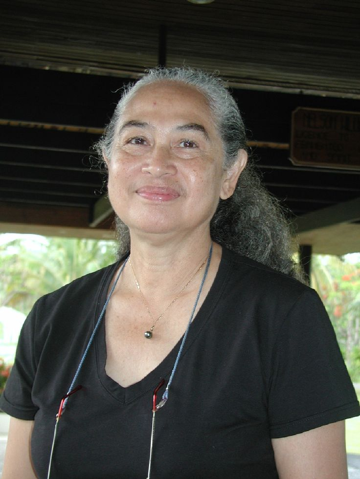 Dr Konai Helu Thaman - leading Pacific poet and educator #TonganHeroes