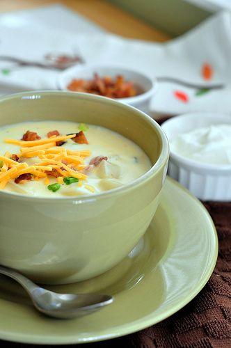 loaded baked potato soup