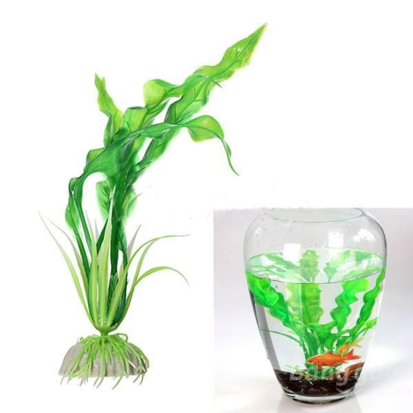 Artificial Plastic Grass Fish Tank decoration Aquarium Ornament
