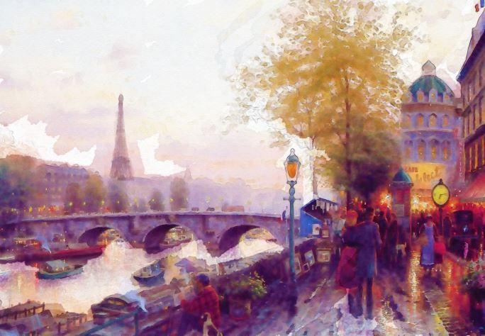 Somewhere in Paris..