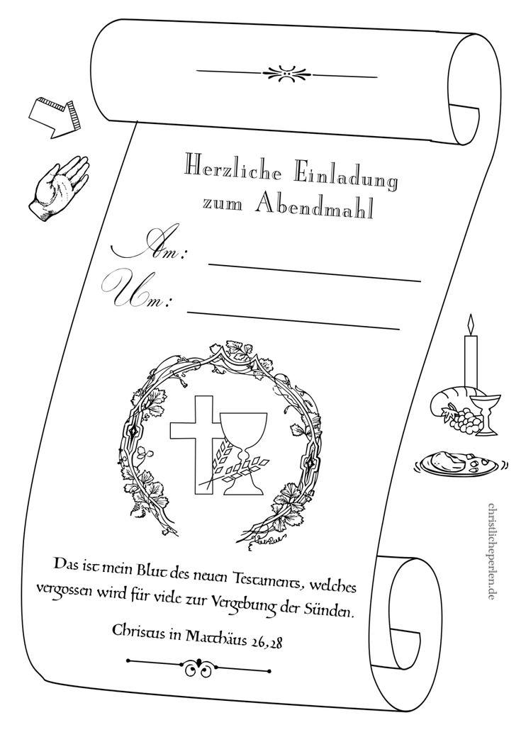 Erstkommunion Arbeitsblätter Brot